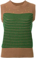 Muveil knitted vest