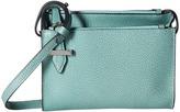 Lodis Stephanie RFID Under Lock Key Trisha Double Zip Wallet on a String Wallet Handbags