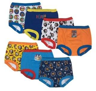 Paw Patrol Toddler Boys Training Pants, 7-Pack