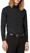 Topman Men's Skinny Fit Stretch Smart Shirt