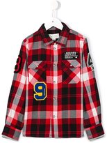 Diesel 'Kxaol' checked shirt - kids - Cotton - 6 yrs