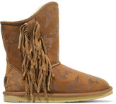 Australia Luxe Collective Naeve Short embossed shearling boots