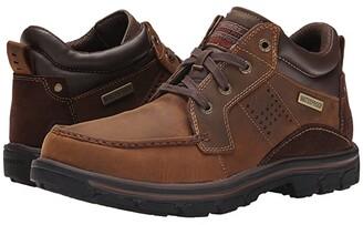 Skechers Relaxed Fit Segment - Melego (Dark Brown) Men's Shoes
