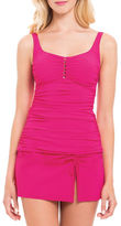 Profile By Gottex Waterfall Square Neck Tankini Top