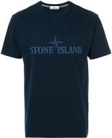 Stone Island graphic logo T-shirt