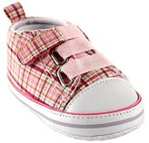 Luvable Friends Plaid Sneaker (Infant)