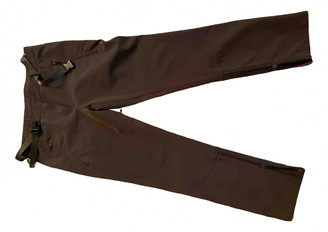 Prada Brown Cloth Trousers