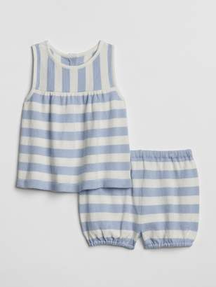 Gap Baby Stripe Sweater Tank Set
