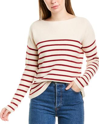 Michael Stars Joss Striped Wool-Blend Pullover