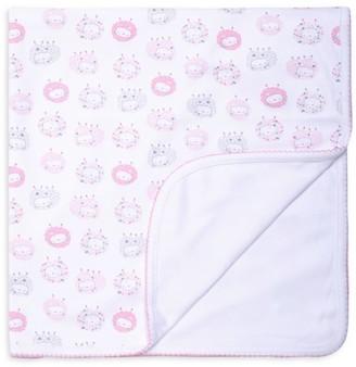 Kissy Kissy Baby Girl's Shabby Sheep Print Blanket