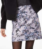 LOFT Frosted Branch Shift Skirt