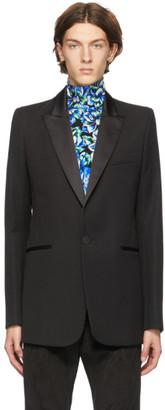 Paco Rabanne Black Wool Blazer