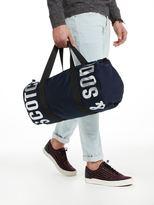 Scotch & Soda Logo Printed Sports Bag