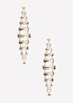 Bebe Graduated Baguette Earrings