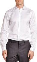 The Kooples Diamond Slim Fit Button-Down Shirt