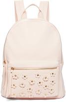 Blush Floral Stud Backpack