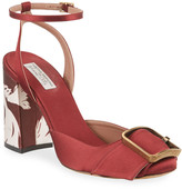 Tabitha Simmons Serena Satin Ankle Sandals