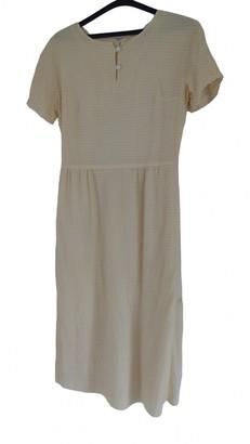 Courrã ̈Ges CourrAges Yellow Wool Dresses