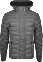 Superdry Fuji Mix Bomber Jacket Grey