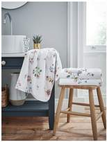 Cath Kidston Scattered Pressed Flowers Bath Towel