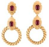 Chanel Resin Drop Earrings