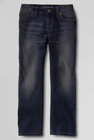 Classic Little Girls 5-pocket Denim Straight Leg Jeans-Authentic Light Wash