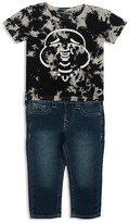 True Religion Infant Boys' Buddha Tee & Jeans Set - Sizes 12-24 Months