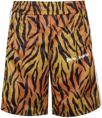 Palm Angels Shorts Sport Tiger