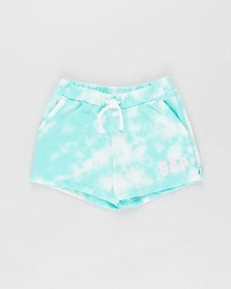 Gapkids Tie Dye Logo Shorts - Teens