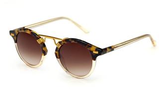 Krewe St. Louis Round Sunglasses