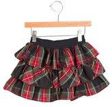 Ralph Lauren Girls' Plaid Tiered Skirt