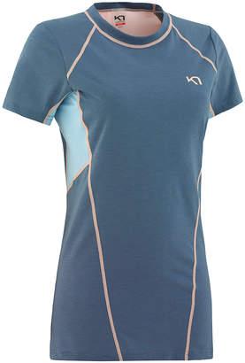 Kari Traa Women's Tee Shirts JEANS - Denim Blue Color Block Svala Tee - Women
