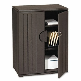 Iceberg Officeworks 2 Door Storage Cabinet Iceberg Enterprises Finish: Black