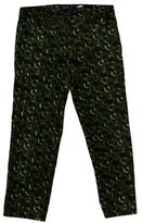 Derek Lam Printed Crop Pants