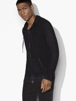 John Varvatos French Terry Zipped Hoody