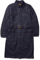Ralph Lauren RRL Indigo Cotton Twill Shop Coat