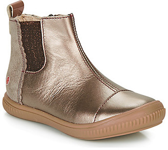 GBB ONAO girls's Mid Boots in Gold
