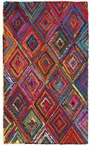 LNR Home Layla Multi-coloreded Contemporary Abstract Rug (3'6 x 5'6)