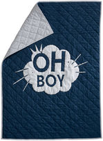 Ethan Allen Oh Boy Toddler Quilt, Deep Sea