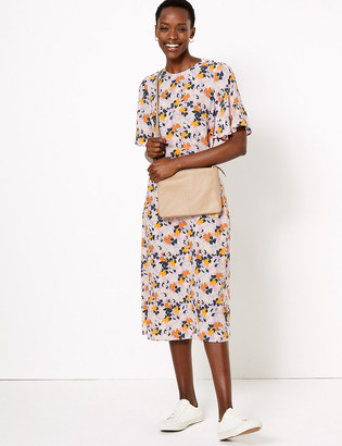 Marks and Spencer Floral Midi Relaxed Dress