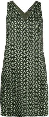 Aspesi V-Neck Shift Dress