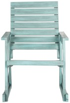 The Well Appointed House Outdoor Rocking Chair in Beach House Blue Finish - CURRENTLY ON BACKORDER UNTIL MID OF FEBRUARY 2017
