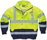 Dickies Mens High Vis Two-Tone Waterproof Pilot Jacket (L)