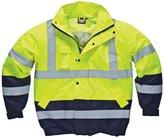 Dickies Mens High Vis Two-Tone Waterproof Pilot Jacket (M)