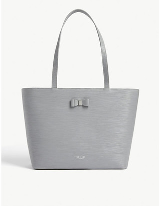 Ted Baker Bow detail leather tote