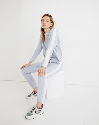 Madewell MWL Superbrushed Inset Easygoing Sweatpants