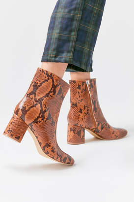 Urban Outfitters Alana Snakeskin Boot