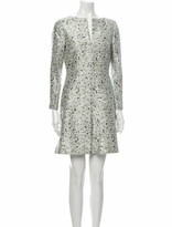 Thumbnail for your product : Tory Burch Silk Mini Dress Green