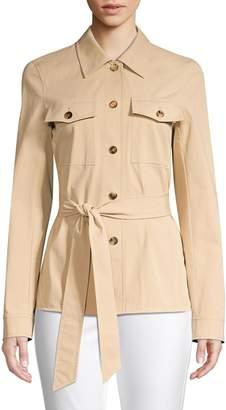 Lafayette 148 New York John Pima Cotton Jacket