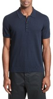 Rag & Bone Men's Mason Cotton & Cashmere Sweater Polo